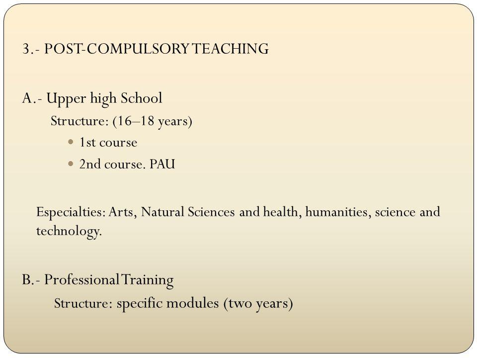 4.- HIGHER EDUCATION: UNIVERSITY STUDIES DEGREE: Four-year college career.