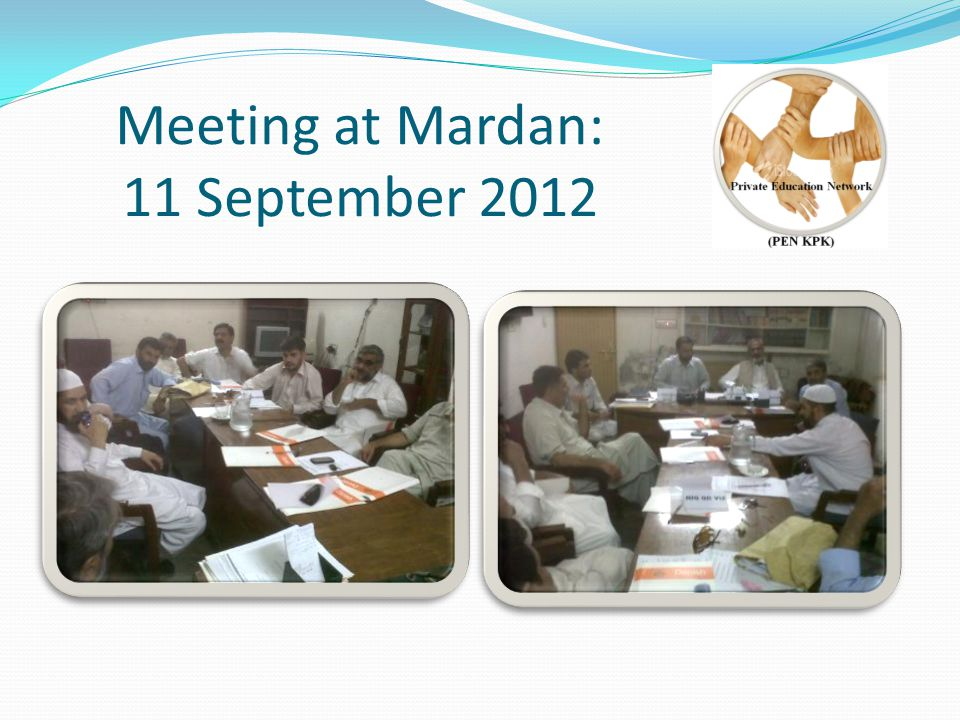 Meeting at Mardan: 11 September 2012