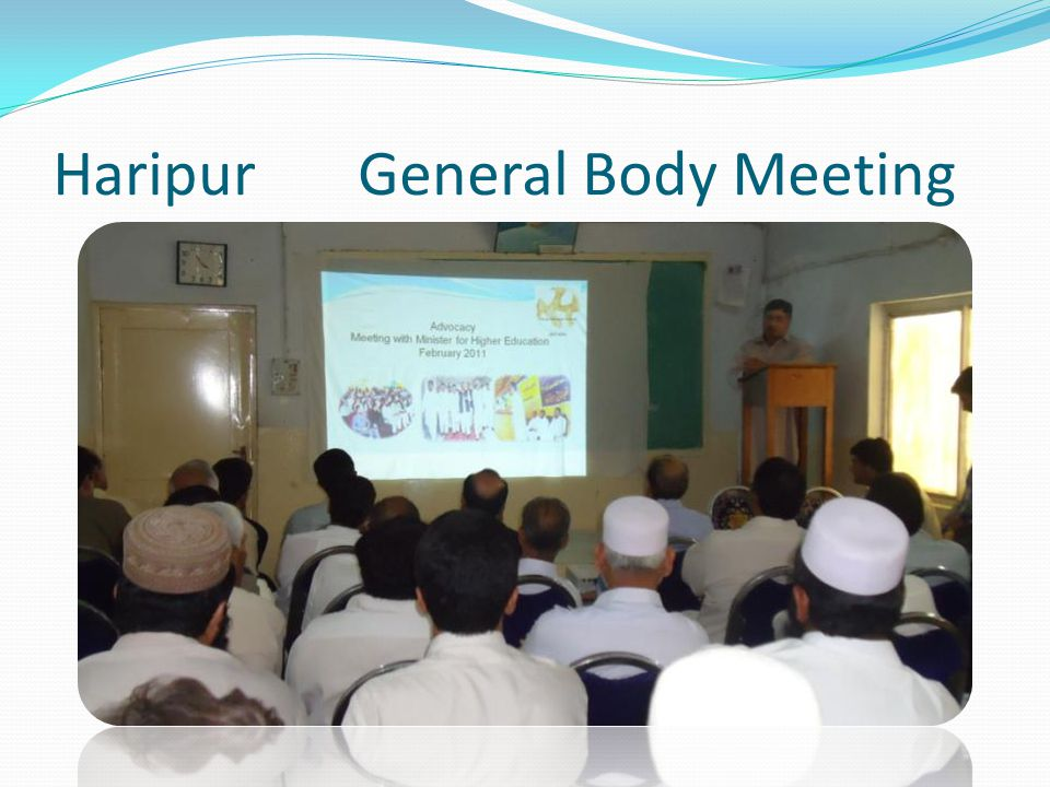 Haripur General Body Meeting