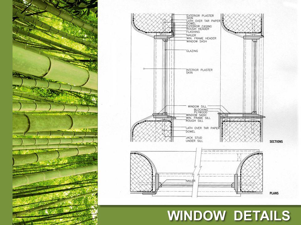 WINDOW DETAILS WINDOW DETAILS