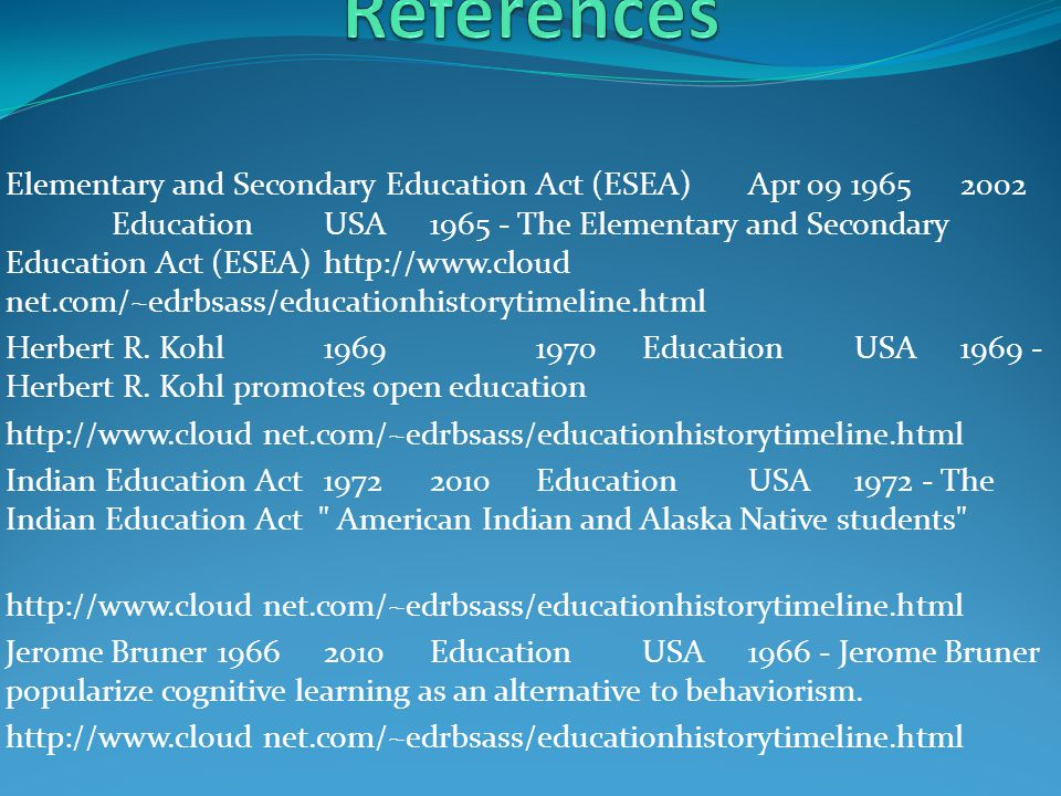 Civil Rights Act19642010Society & CultureUSA1964 - The Civil Rights Act prohibits discrimination http://www.cloud net.com/~edrbsass/educationhistorytimeline.html Cotton harvested mechanically19681970WorkUSA96% of cotton harvested mechanicallyhttp://www.agcla ssroom.org/gan/timeline/farm_tech.htm Country & Western19502100MusicTennesseeModern Countryhttp://www.essortment.com/all/americanmusicw_rhaj.htm Doo-Wop19502010MusicUSAChurch harmonys mixed with the Blues- Plattershttp://www.john- meekings.co.uk/ timeline.html