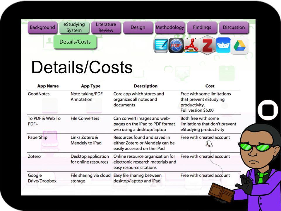 Details/Costs