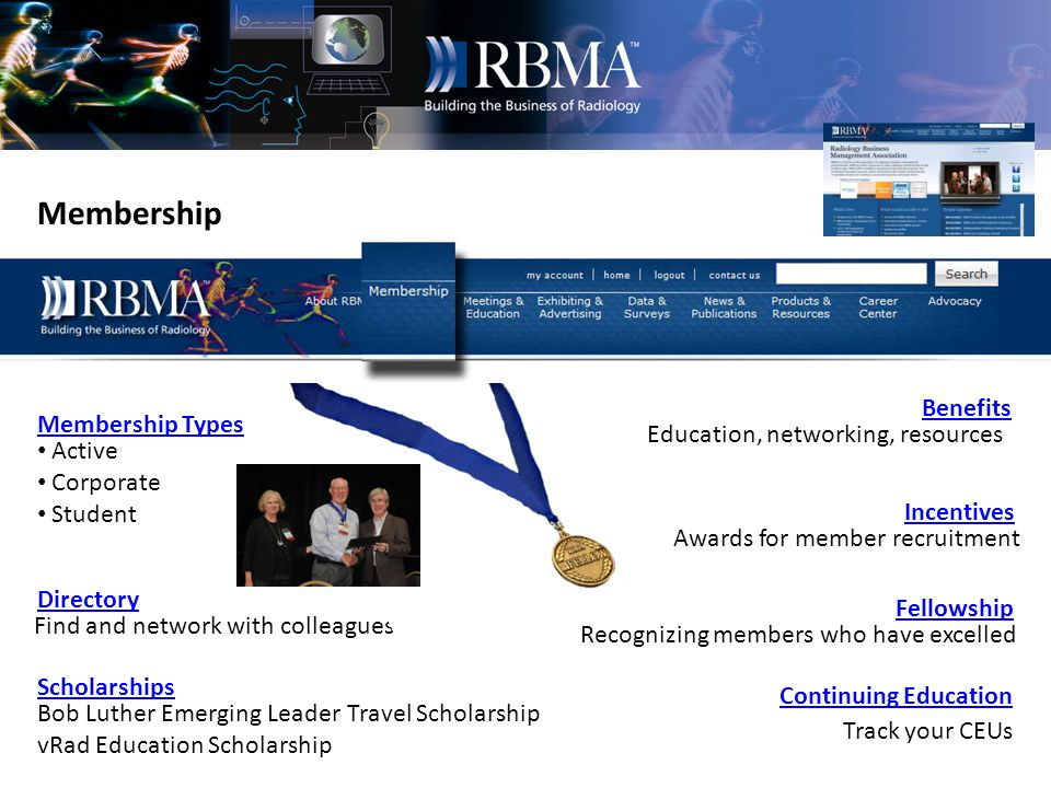 Advocacy Call to Action Congressional Affairs Payor Relations Federal Affairs Meaningful Use RBMA keeps its members Informed of late-breaking news of a regulatory or congressional nature via e-Alerts.