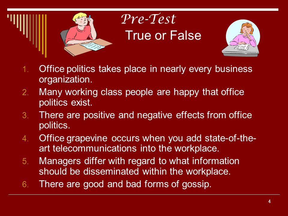 15 Post Test Ten True or False Questions (Cont.) 5.