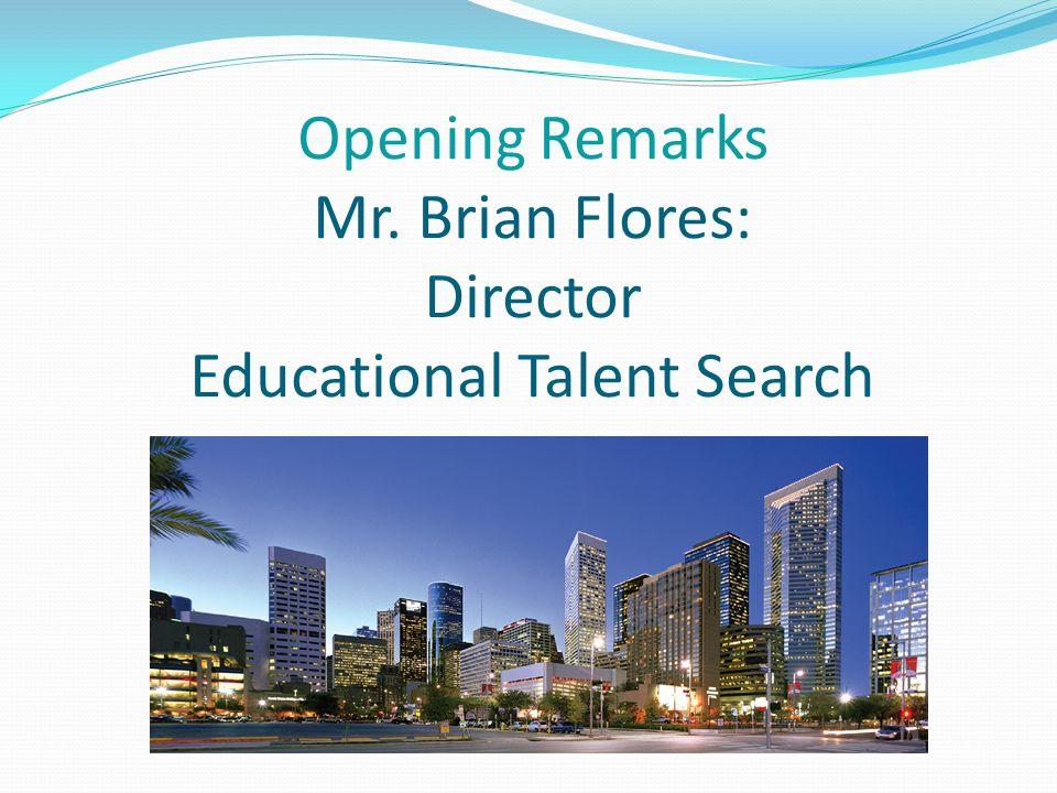 Talent Search Staff Brian R.