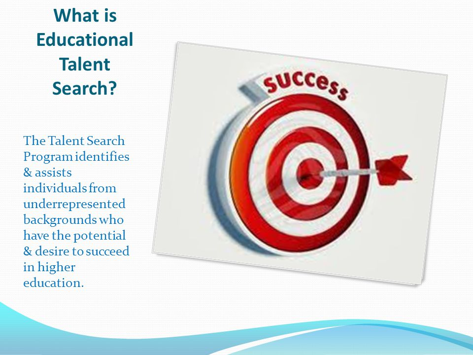 What is Educational Talent Search.