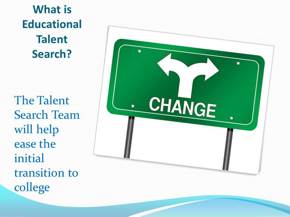 Educational Talent Search Intermediate Schools: Wells Intermediate