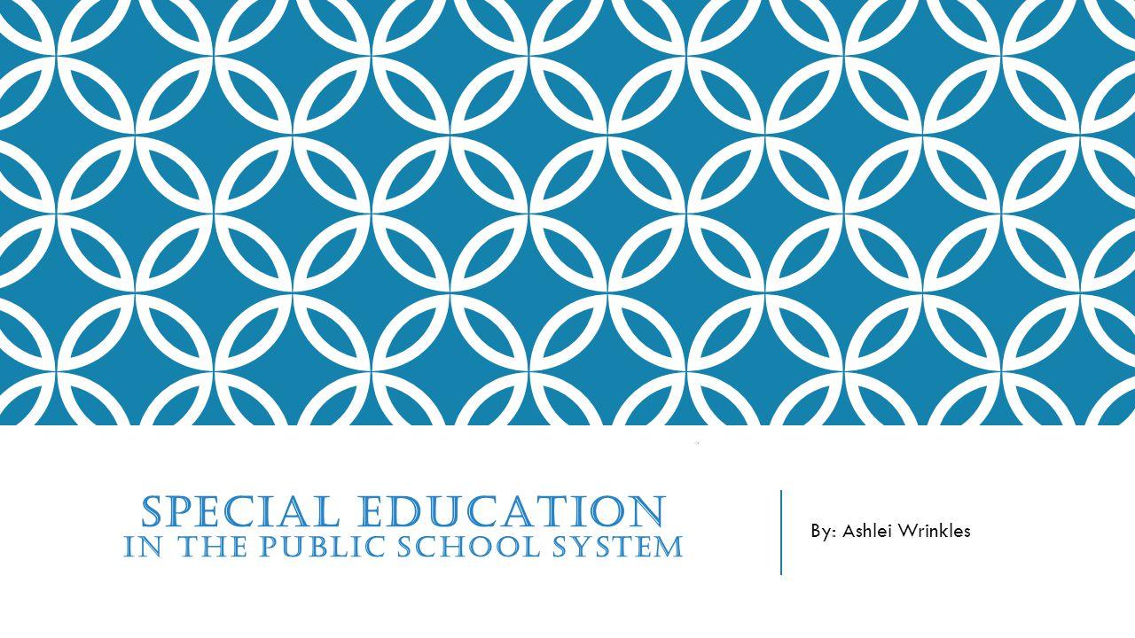 MOST COMMON DISABILITIES FOUND IN PUBLIC SCHOOLS