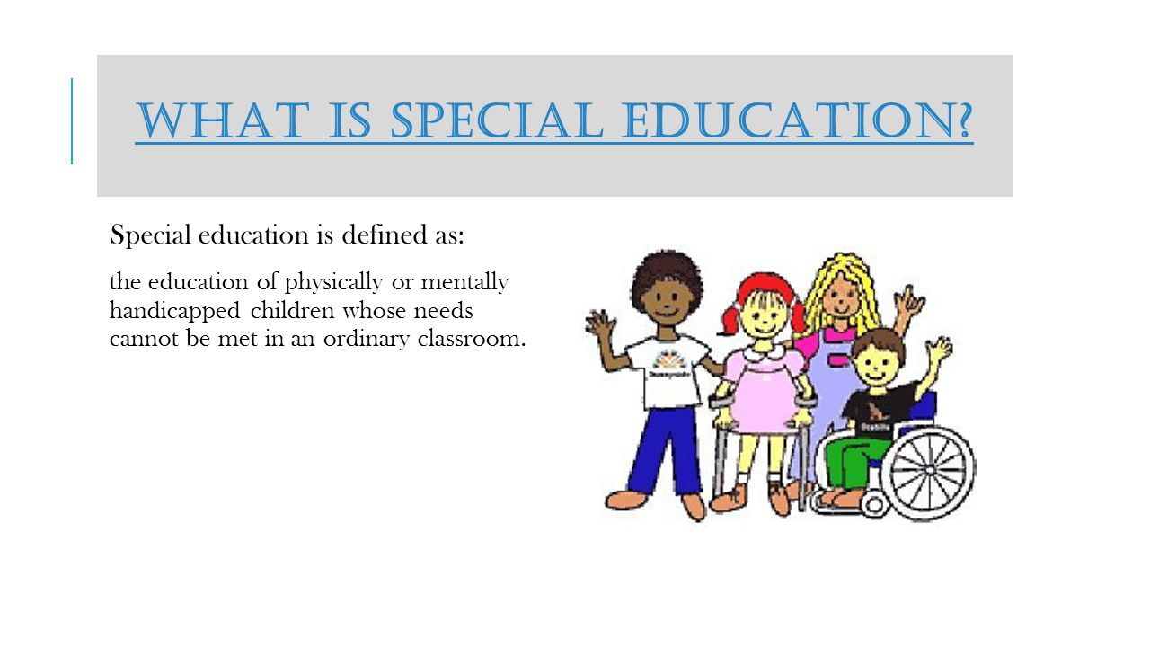 SPECIAL EDUCATION IN THE PUBLIC SCHOOL SYSTEM By: Ashlei Wrinkles