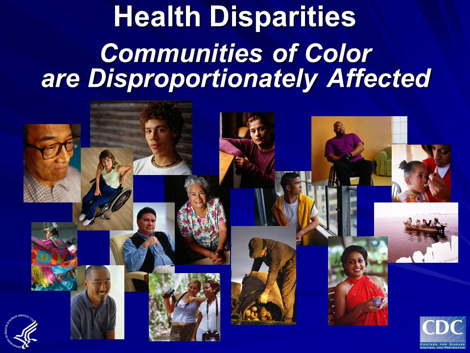 CDCs OMH, 1988-1998 Major Goals Assuring that policies direct activities toward minority health Enhancing research to reduce the disproportionate disease burden in minority groups Developing effective internal and external communication networks