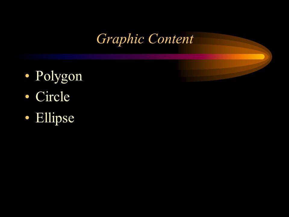 Graphic Content Polygon Circle Ellipse