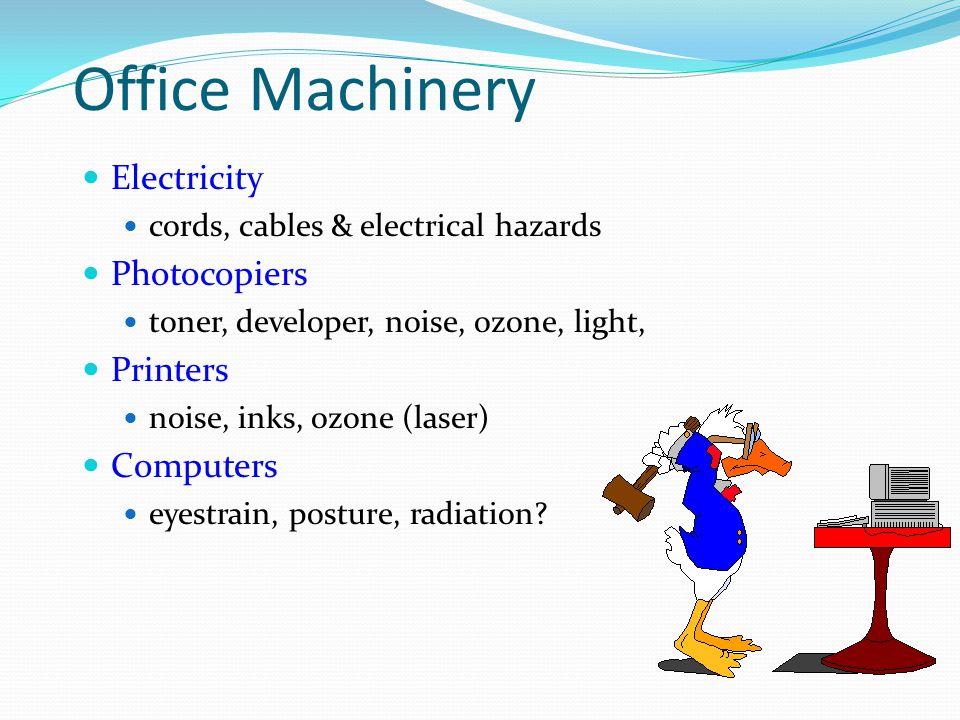 Workplace Specific Hazards & Risks.