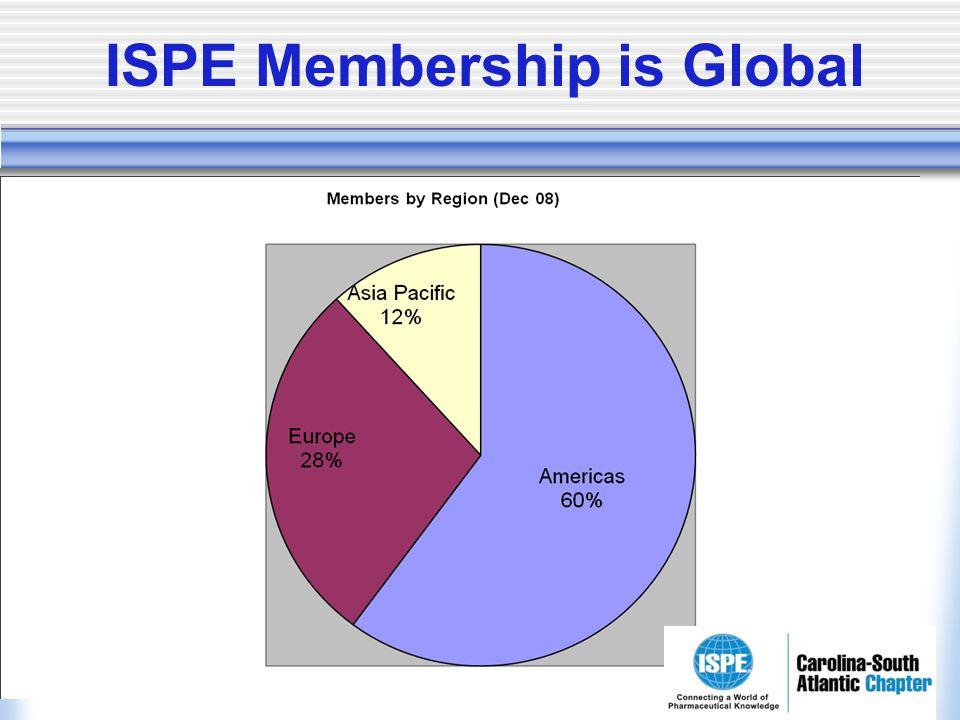 ISPE Membership is Global