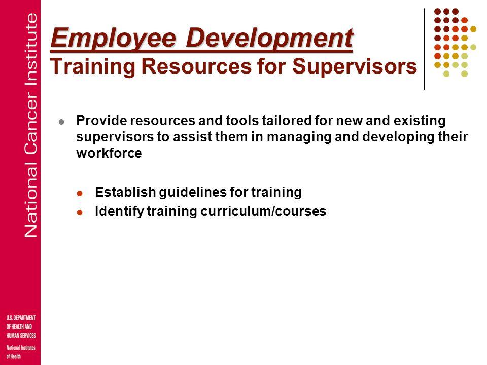 Employee Development Employee Development Knowledge Management: A Mentoring Program Formal mentoring program for employees with administrative duties