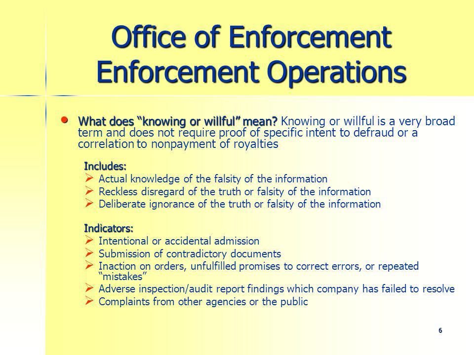 7 Office of Enforcement Enforcement Operations How does company size impact the penalties that are assessed.