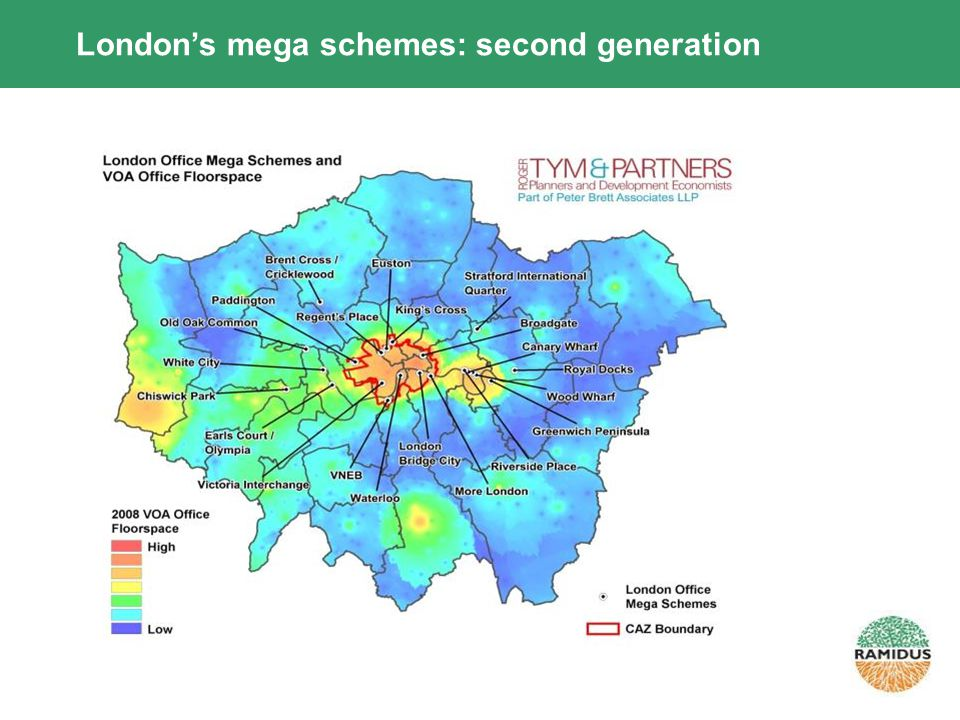 Londons mega schemes: second generation