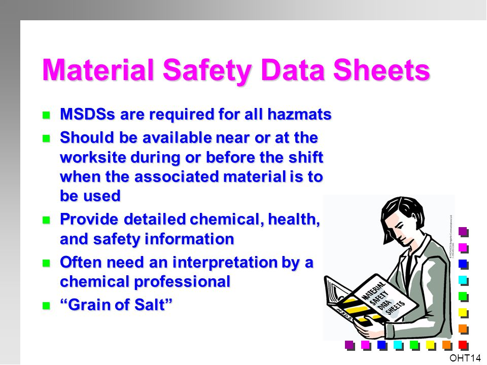 OHT13 Office Hazardous Material Toners, Developers & Inks Toners, Developers & Inks Cleaning Agents Cleaning Agents Solvents Solvents Paints Paints Ai
