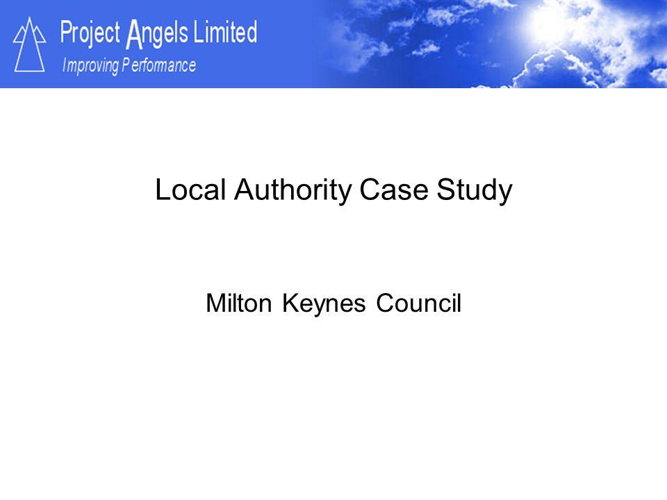Local Authority Case Study Milton Keynes Council