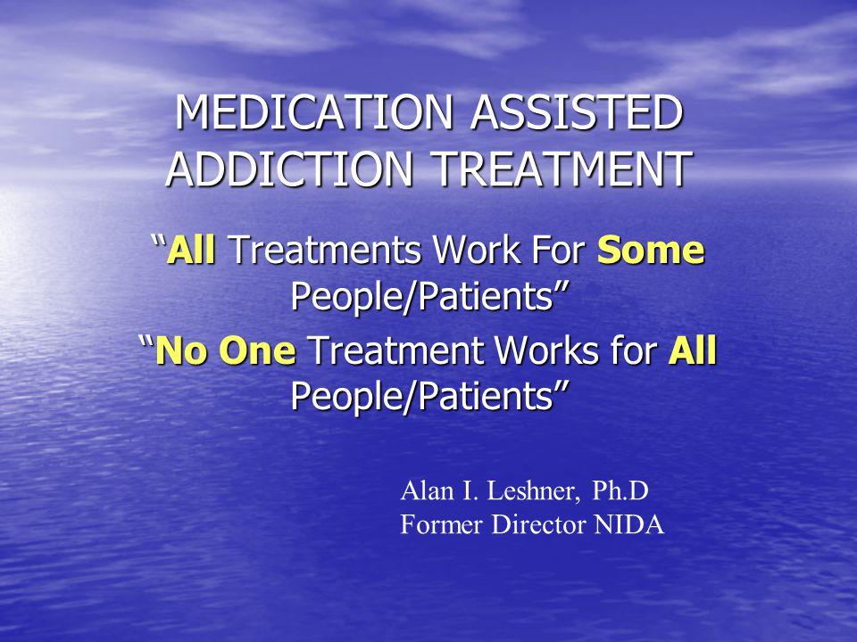 OPIATE AGONIST THERAPY OPIATE AGONIST THERAPY Pharmacology AddictionRegulatory Stigma DestitutionPolitical