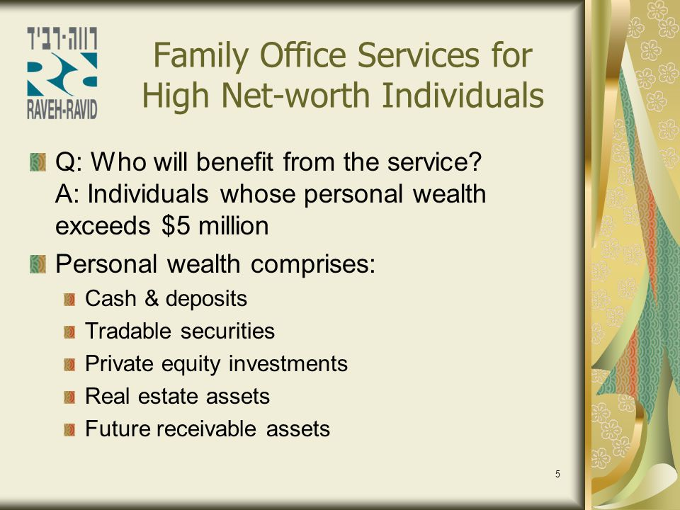 6 Family Office Services for High Net-worth Individuals What are the benefits.