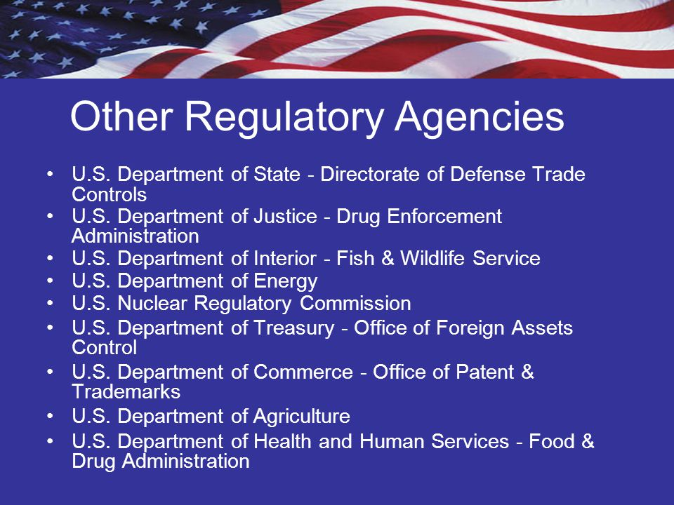 Items on the CCL, not on the CDC List