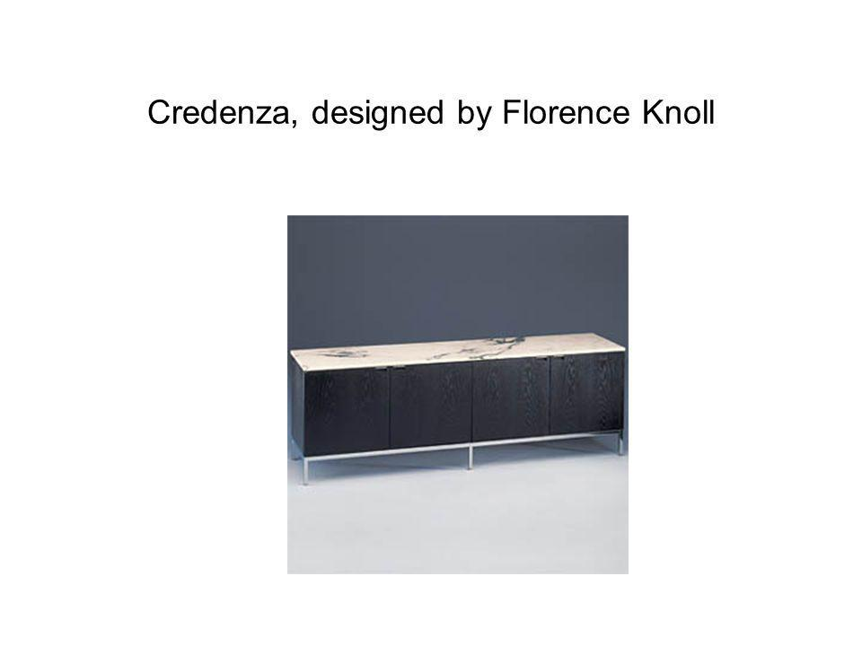 Credenza, designed by Florence Knoll