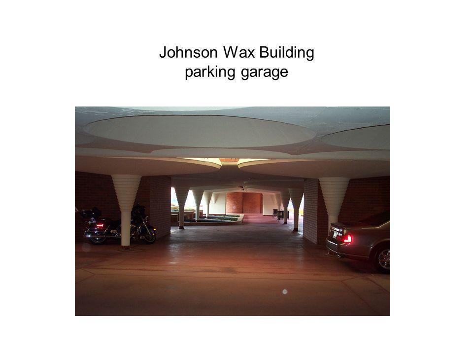 Johnson Wax Building parking garage