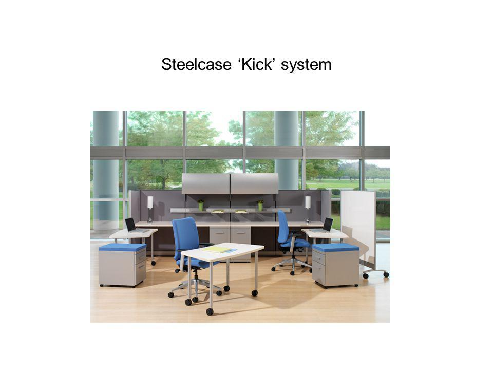 Steelcase Kick system