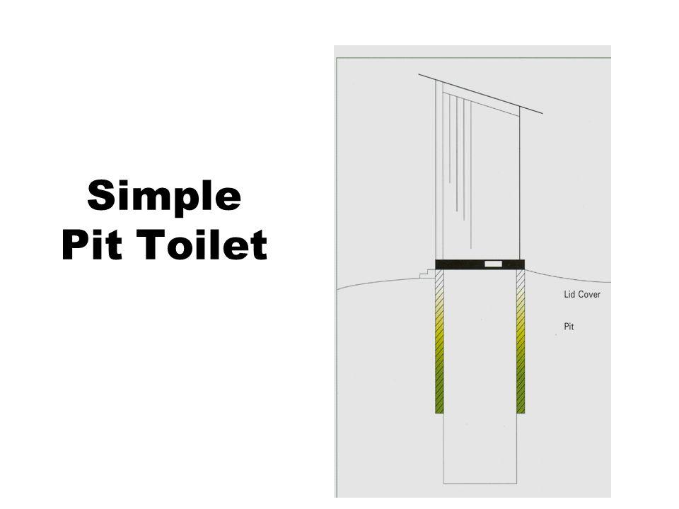 Simple Pit Toilet