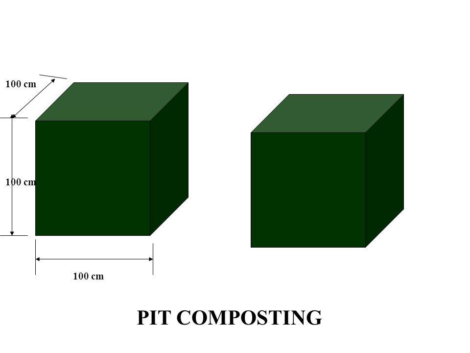 100 cm PIT COMPOSTING