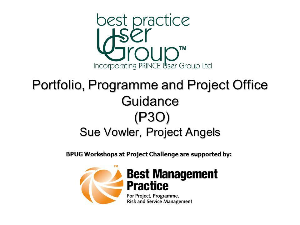 Portfolio, Programme and Project Office Guidance (P3O) Sue Vowler ©TSO 2008.