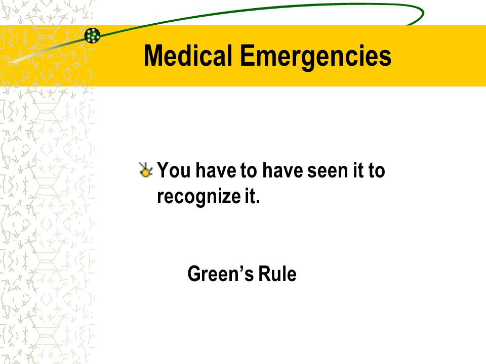 Name 3 dental emergencies in which this is used.How is it administered.