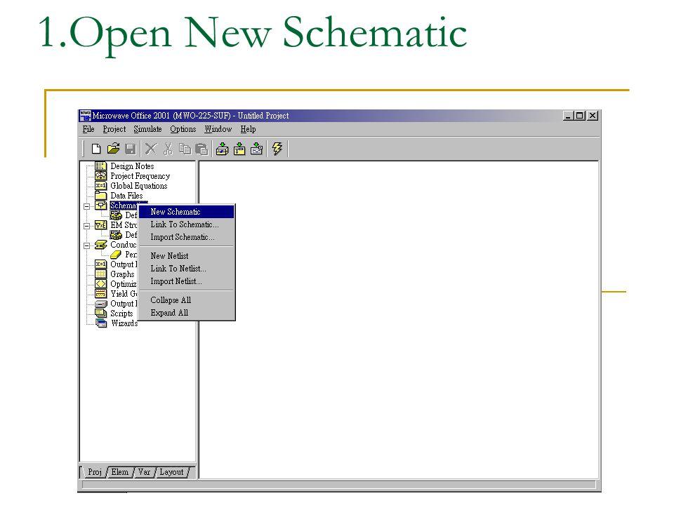 Enter Schematic s name