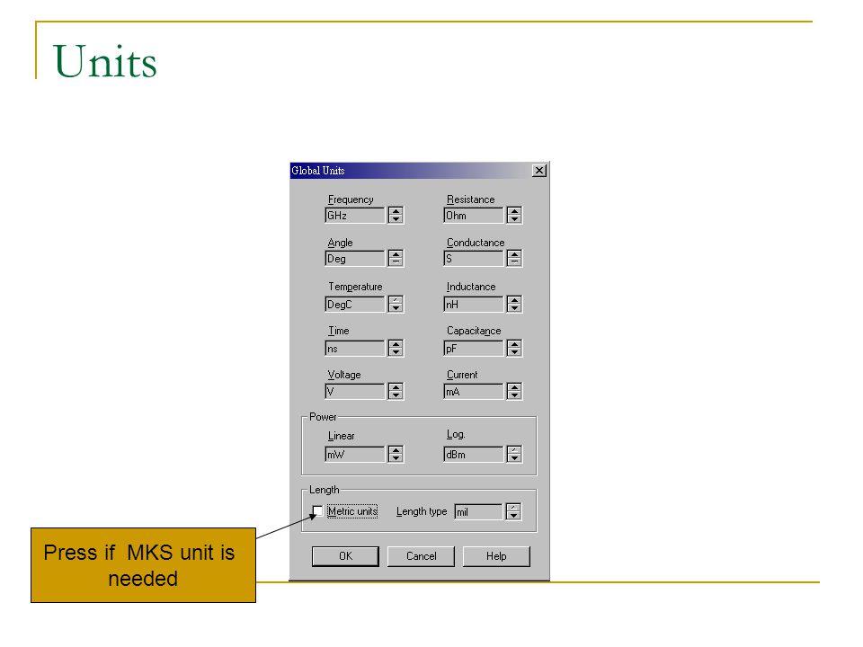 3.Choose elements Press Elem bottom first
