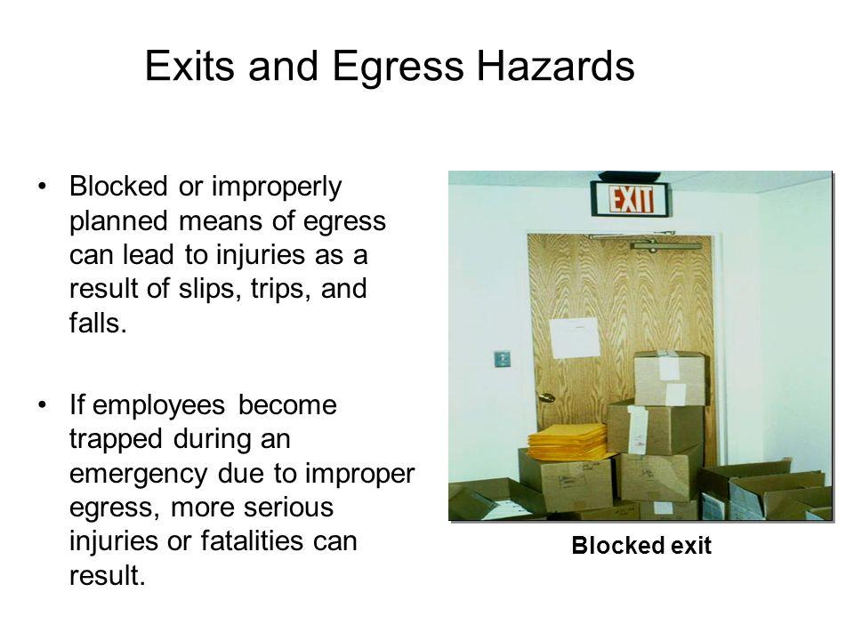 Office Furniture Hazard Controls (contd.) Desks –Keep desks in good condition - free from sharp edges, nails, etc.