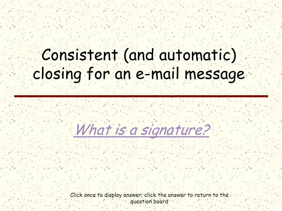 Click once to display answer; click the answer to return to the question board Four letter word for junk mail What is spam