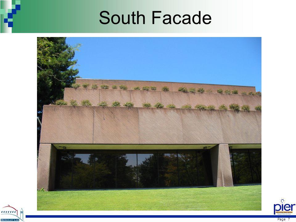 Page 7 South Facade