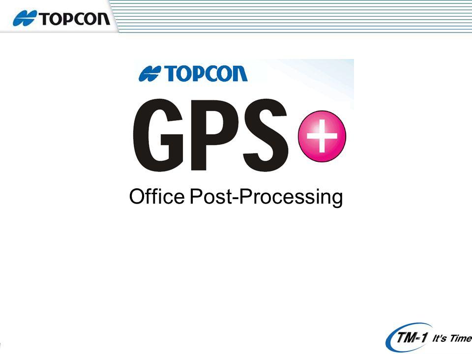 Topcon Tools - Configuring Click Here
