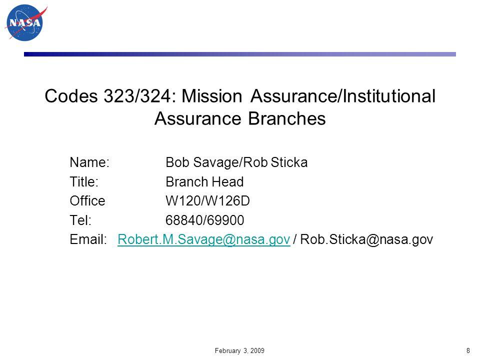 February 3, 200939 GSFC Audit Database Link http://auditsystem.gsfc.nasa.gov Civil Servants Click here.