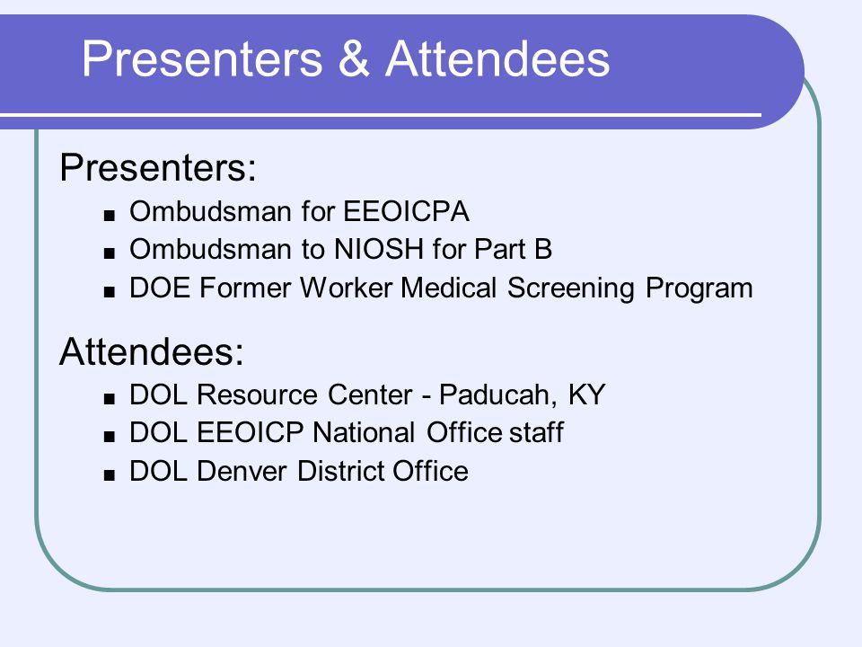 45 Former Worker Medical Screening Program