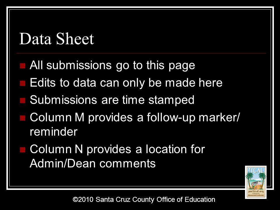 ©2010 Santa Cruz County Office of Education Deans/Intervention Office Form Youssef Elias youssef@youssefelias.com