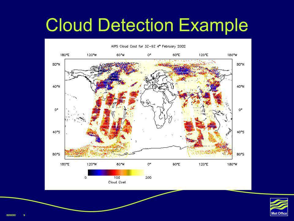 00/XXXX9 Cloud Detection Example
