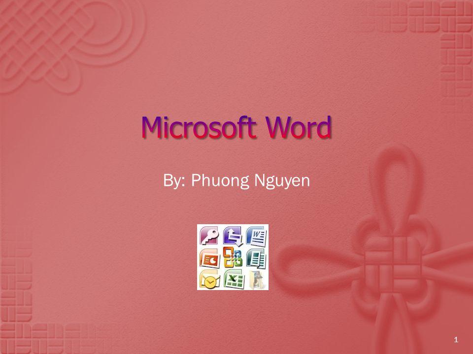 By: Phuong Nguyen 1