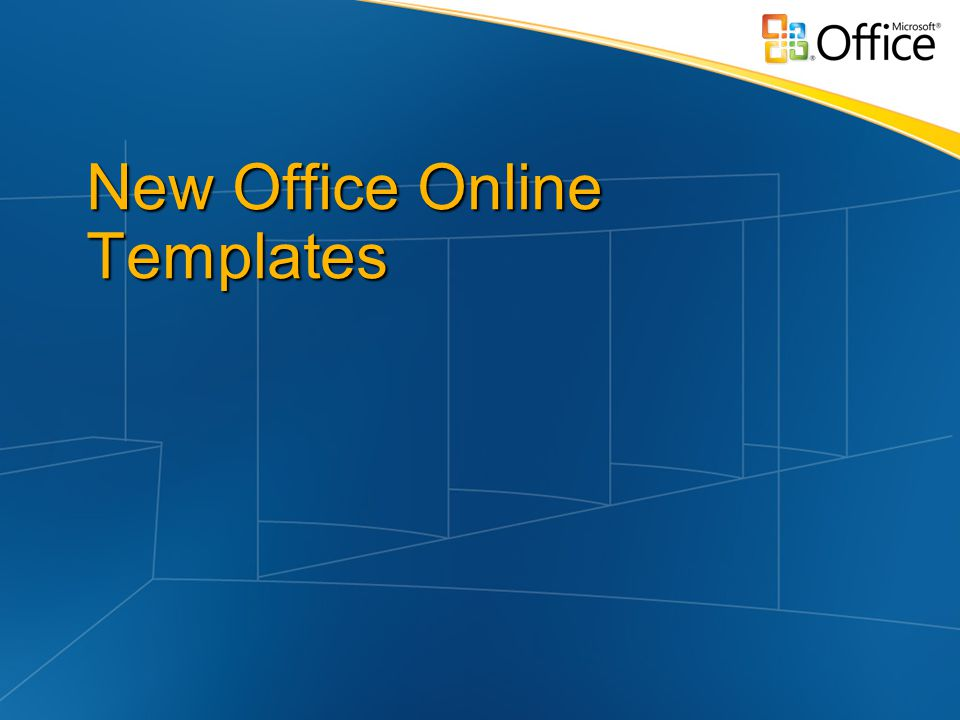 New Office Online Templates
