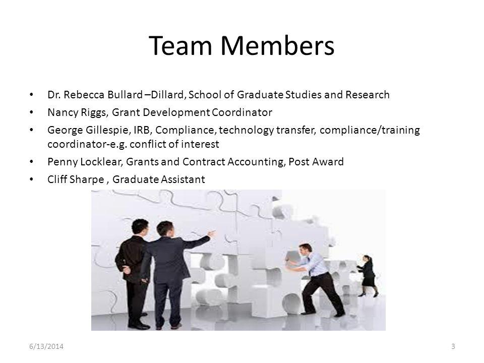 Team Members Dr.
