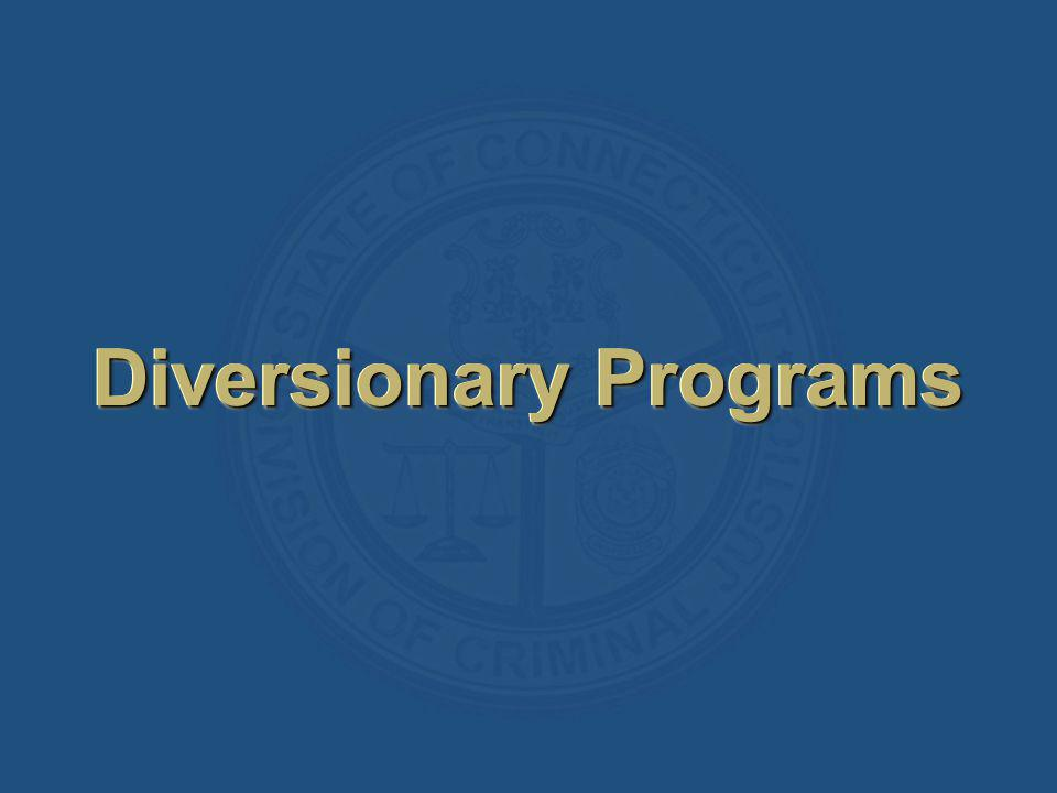 Diversionary Programs