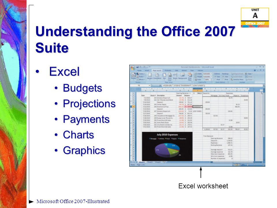 Microsoft Office 2007-Illustrated Creating and Saving a File Save As dialog boxSave As dialog box Previous Locations list arrow Address bar File name field; your computer may not be set to display file extensions