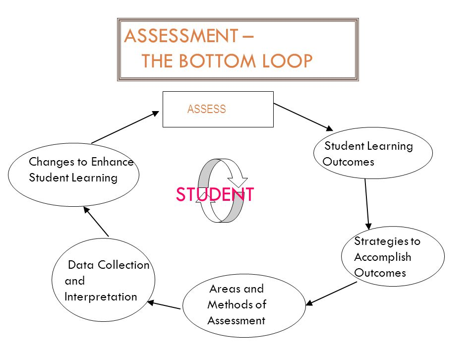 ASSESS Changes to Enhance Student Learning Student Learning Outcomes Strategies to Accomplish Outcomes Areas and Methods of Assessment Data Collection