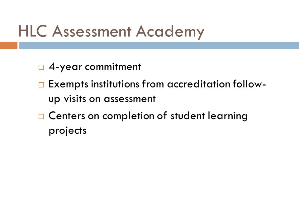 SCSUs Assessment Academy Projects University Assessment System Assessment of Student Learning in Programs General Education Assessment www.stcloudstate.edu/assessment/academy.asp