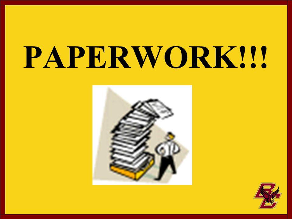 PAPERWORK!!!